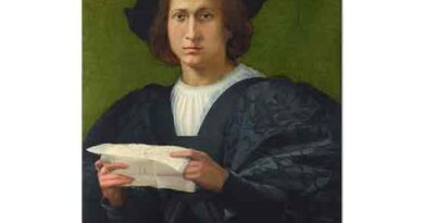 Rosso Fiorentino Genç Adam Elinde Mektupla - Portrait of a Young Man holding a Letter