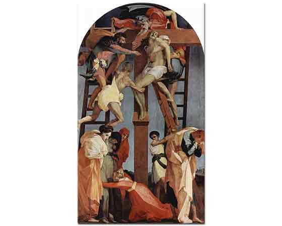 Rosso Fiorentino İndiriliş - Deposition from the Cross