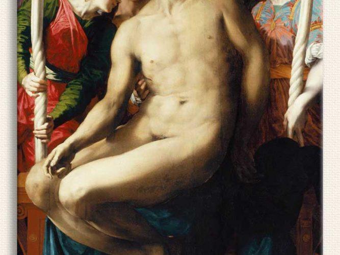 Rosso Fiorentino Isa'nın ölümü ve Melekler