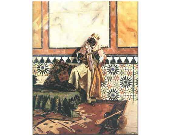 Rudolph Ernst Kuzey Afrika'da iç Mekan