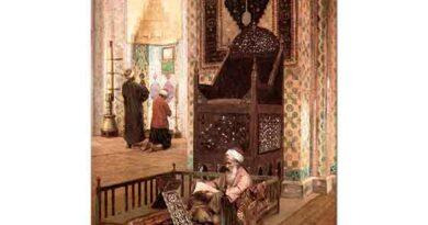 Rudolph Ernst Rüstem Paşa Cami içi İstanbul