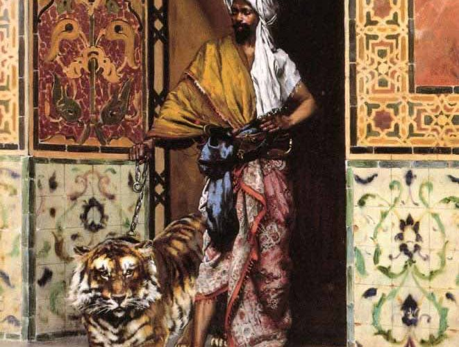 Rudolph Ernst Paşanın Favori Kaplanı