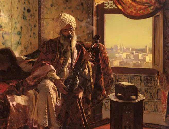 Rudolph Ernst Nargile tablosu