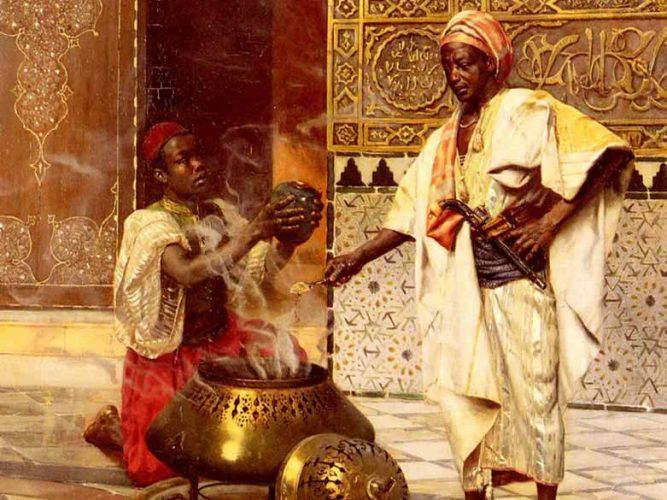 Rudolph Ernst Elhamra'da tablosu