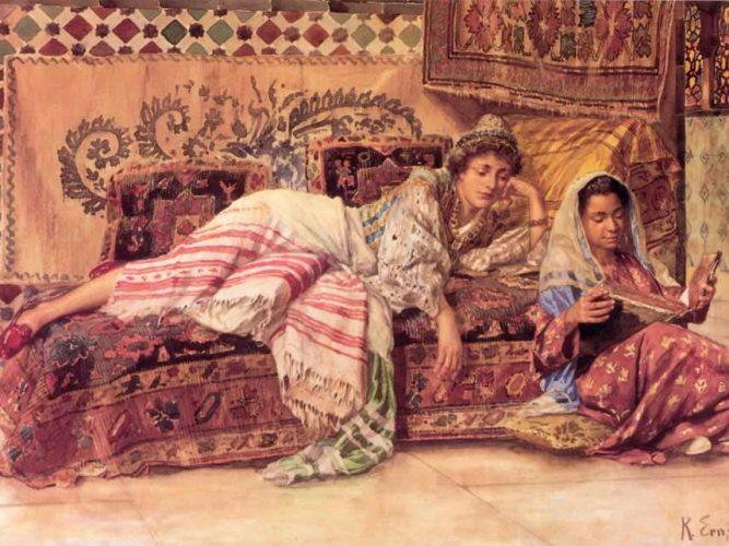 Rudolph Ernst Okuyucu tablosu