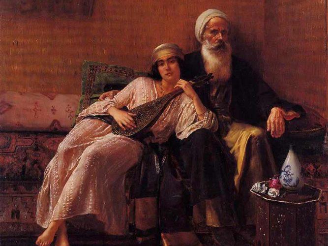 Rudolph Ernst Müzisyen tablosu