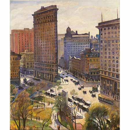 Samuel Halpert Flatron Binası New York