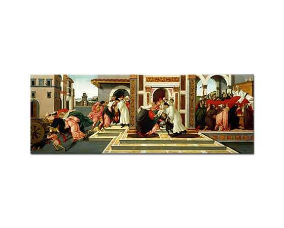 Sandro Botticelli Aziz Zenobius'un Yaşamından