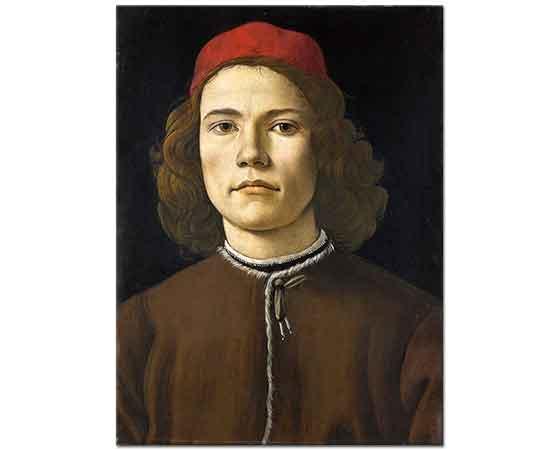 Sandro Botticelli Genç Adam Portresi