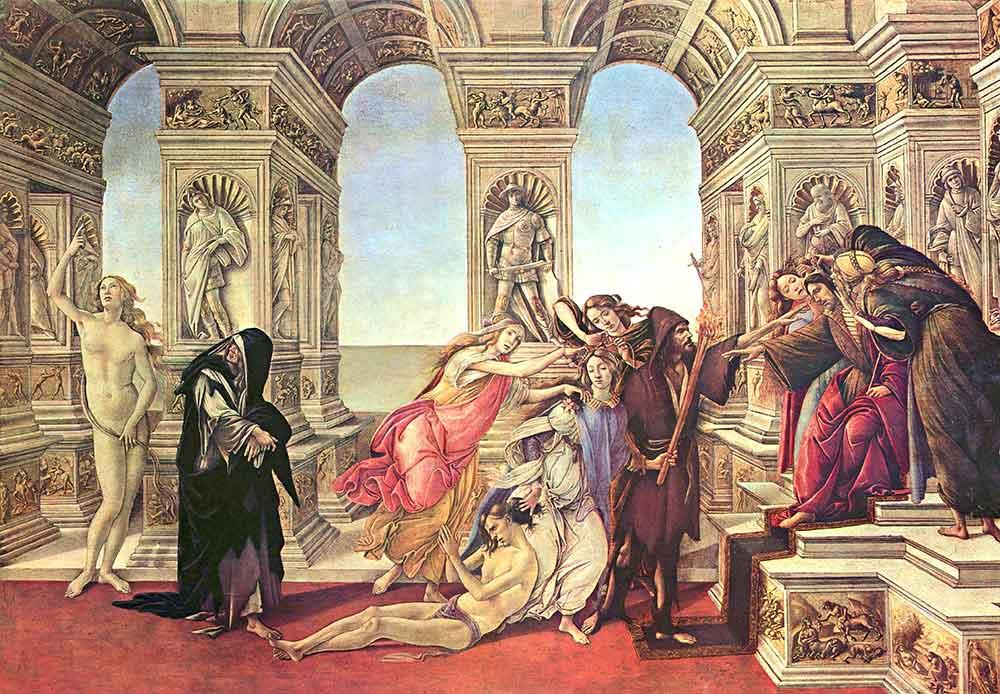 Sandro Botticelli iftira
