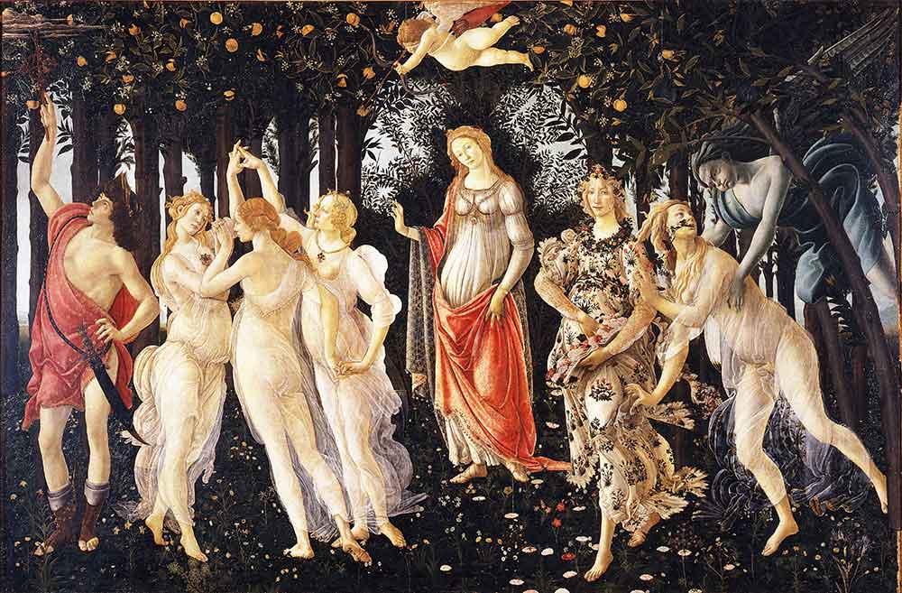 Sandro Botticelli ilkbahar