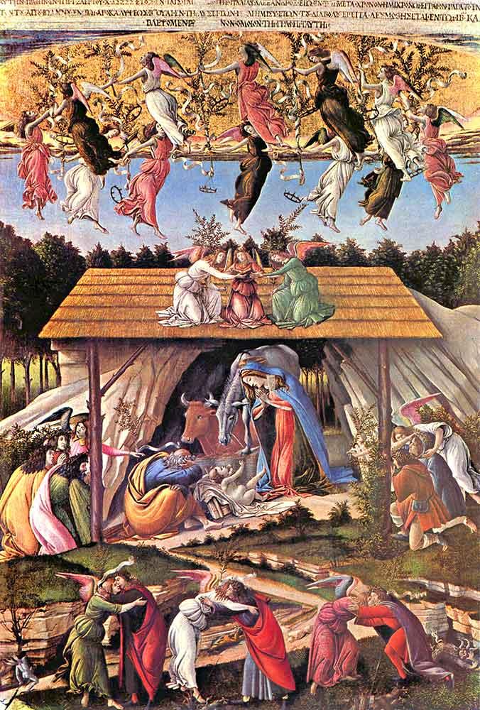 Sandro Botticelli Isa'nın Doğumu
