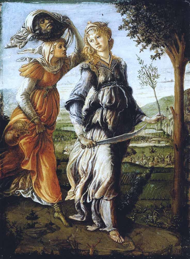 Sandro Botticelli Judith'in Dönüşü
