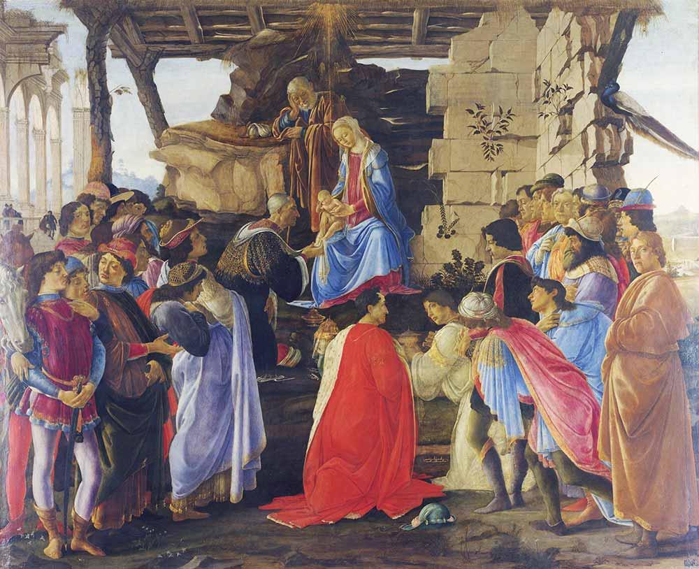 Sandro Botticelli Kahinlerin Kutsaması Sahnesi