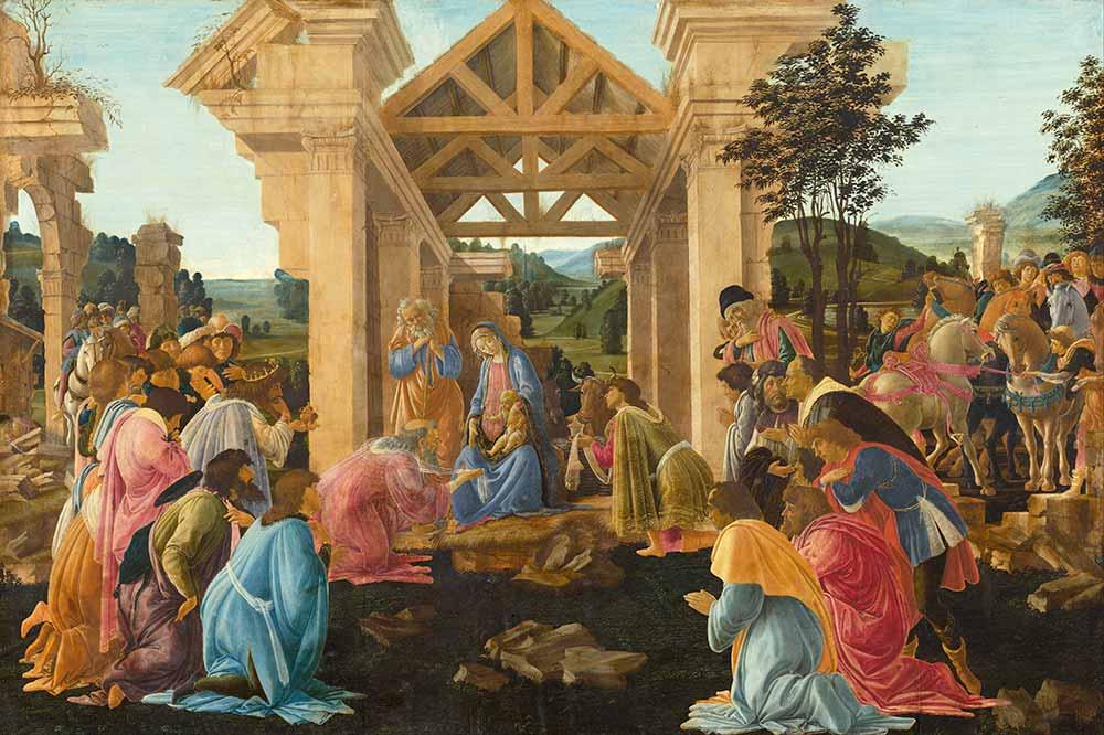 Sandro Botticelli Kahinlerin Kutsaması