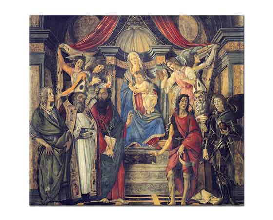 Sandro Botticelli Madonna di S Barnaba