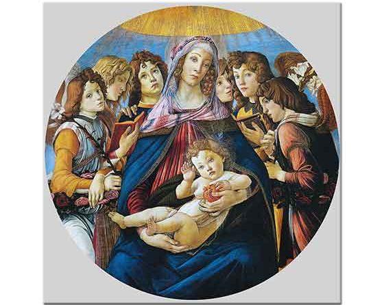 Sandro Botticelli Madonna ve Nar