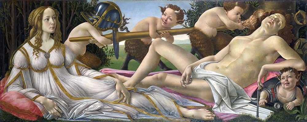 Sandro Botticelli Venüs ve Mars