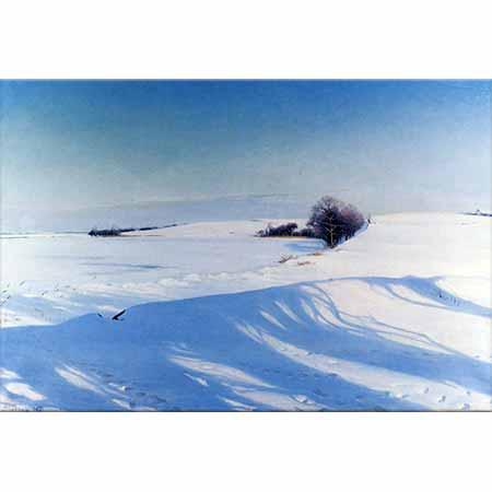 Sigvard Marius Hansen Kış Sabahı