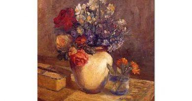 Şinasi Barutçu Vazoda Çiçekler
