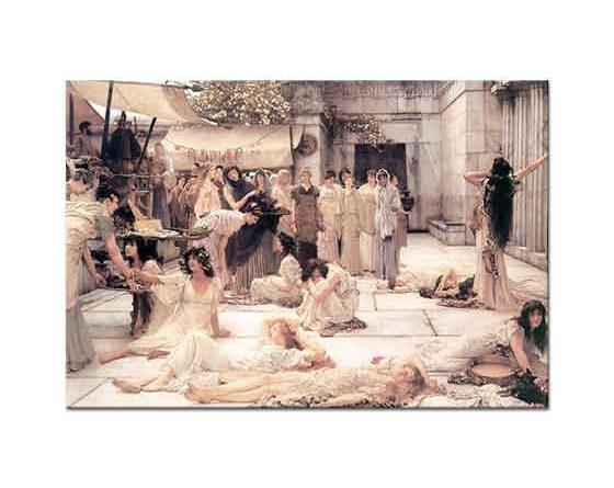 Sir Lawrence Alma Tadema Amphissalı Kadınlar