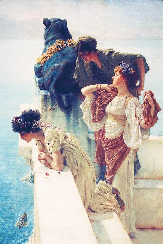 Sir Lawrence Alma Tadema Gözlem Noktası