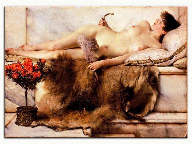 Sir Lawrence Alma Tadema Hamamda Dinlenme