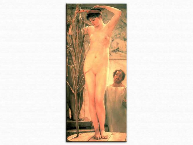 Sir Lawrence Alma Tadema Heykeltraş Modeli