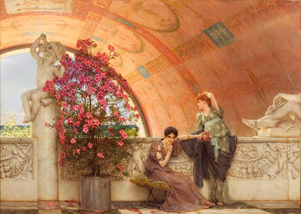 Sir Lawrence Alma Tadema Kasıtsız Rakipler