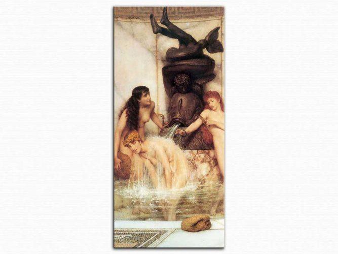 Sir Lawrence Alma Tadema Kızlar ve Süngerler