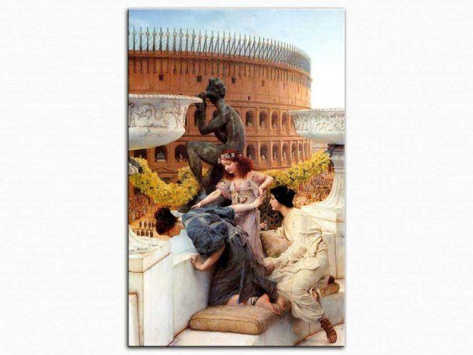 Sir Lawrence Alma Tadema Kolezyum