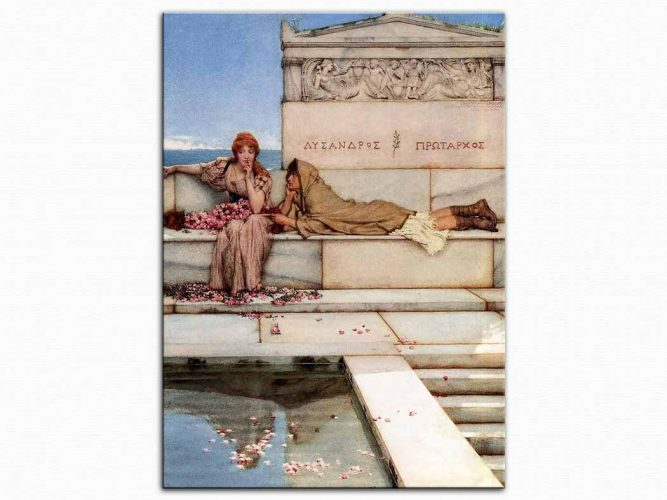 Sir Lawrence Alma Tadema Sante ve Paon
