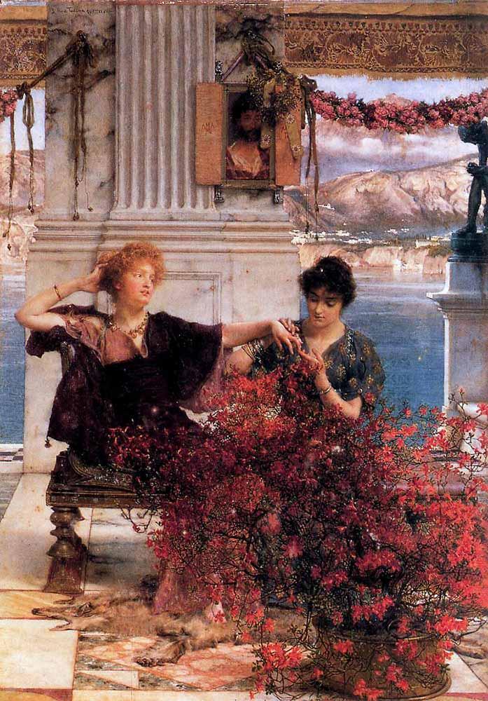 Sir Lawrence Alma Tadema Sevginin Kıymetli Bağlılığı