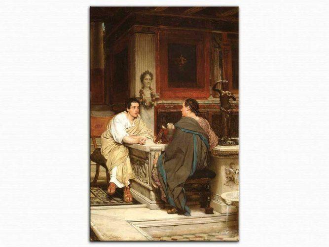 Sir Lawrence Alma Tadema Tartışma