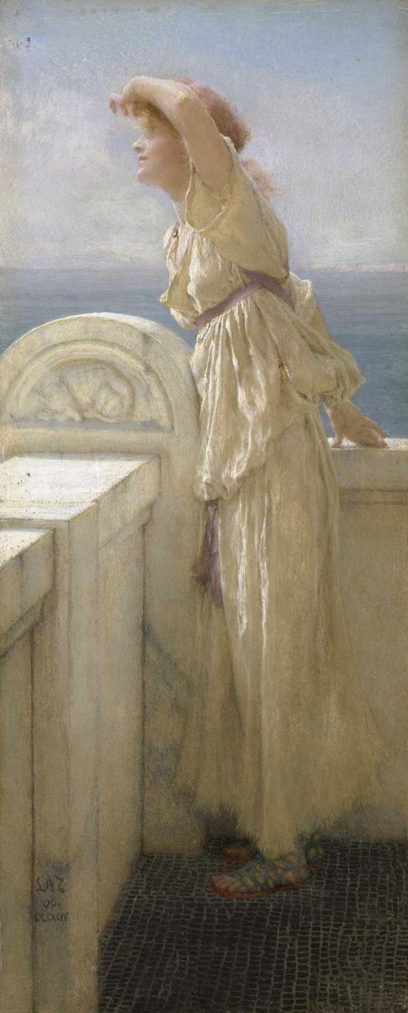 Sir Lawrence Alma Tadema Umut Dolu