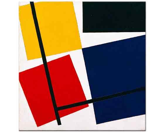 Theo van Doesburg Eş Zamanlı Kompozisyon