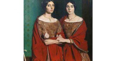 Theodore Chasseriau Kız Kardeşler