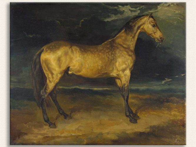 Jean Louis Theodore Gericault Fırtınada At