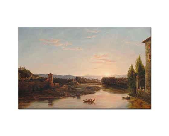 Thomas Cole Arno'da Günbatımı