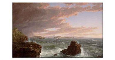 Thomas Cole Bora Sonrası Frenchman Körfezine Geçiş
