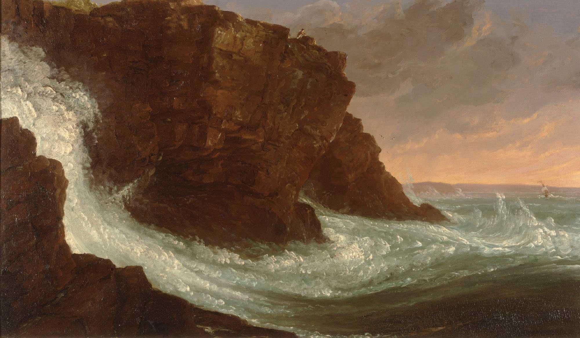 Thomas Cole Frenchman Körfezi Mt Desert Island