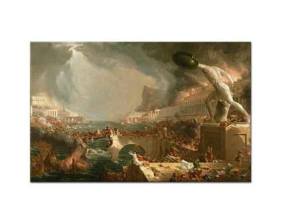 Thomas Cole Imparatorluğun Rotası Yıkım