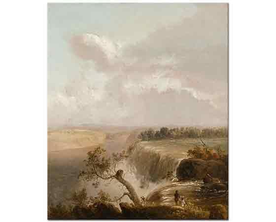 Thomas Doughty Şelale Manzarası Niagara
