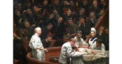 Thomas Eakins, Agnew Kliniği