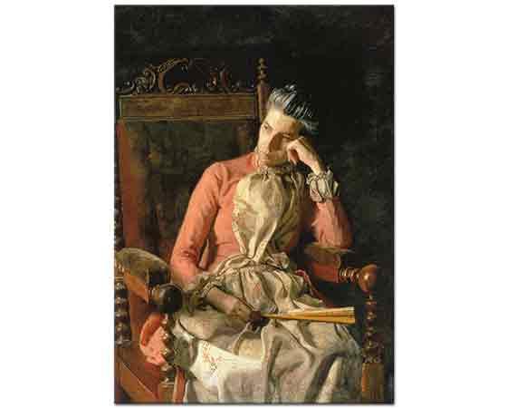 Thomas Eakins, Bayan Amelia Van Buren