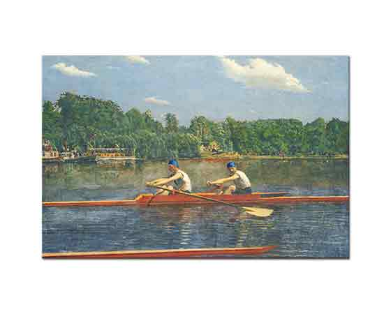 Thomas Eakins, Biglin Kardeşler Yarışta