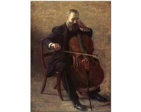 Thomas Eakins, Çello