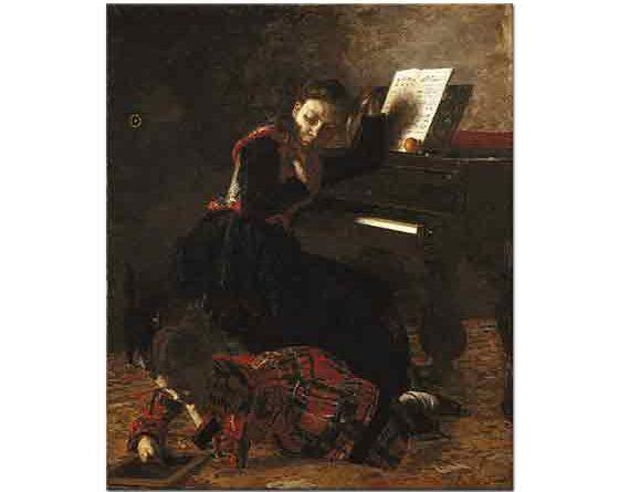 Thomas Eakins, Evde