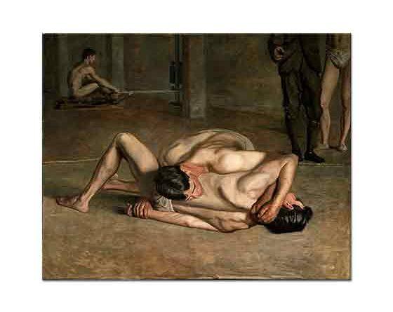 Thomas Eakins, Güreşçiler