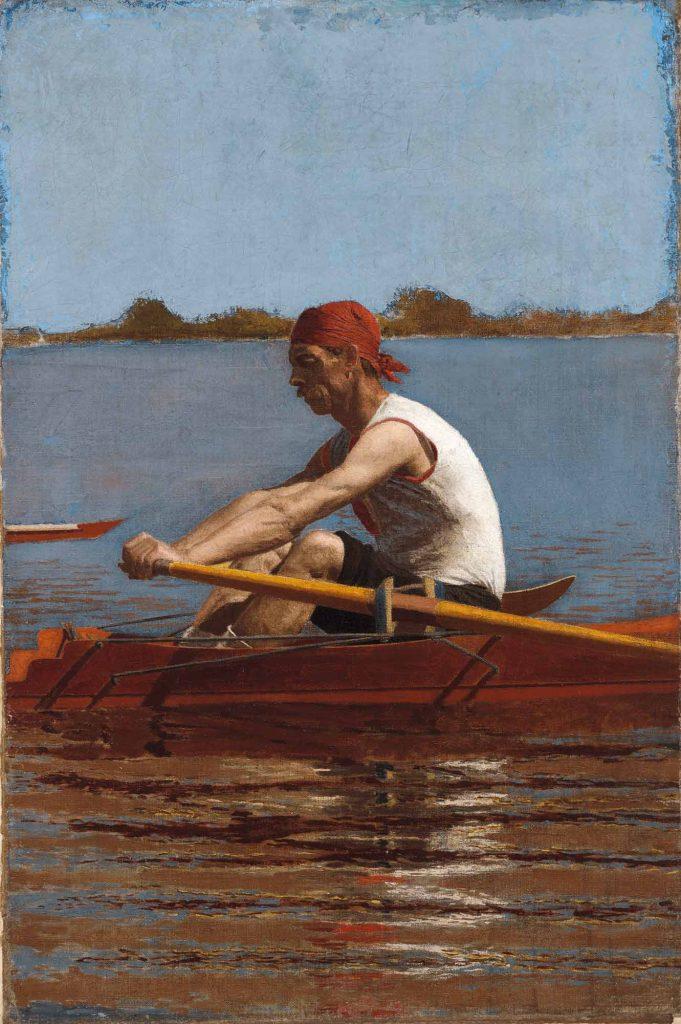 Thomas Eakins, John Biglin Tek Kişilik Kayıkta